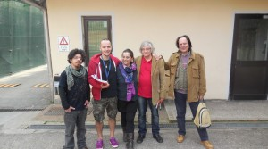 Da sinistra Andrea Doro, Michele Forzinetti, Ombretta Diaferia, Luigi Maffezzoli e Sandro Sardella