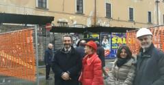 Sopralluogo all'ex Caserma Garibaldi