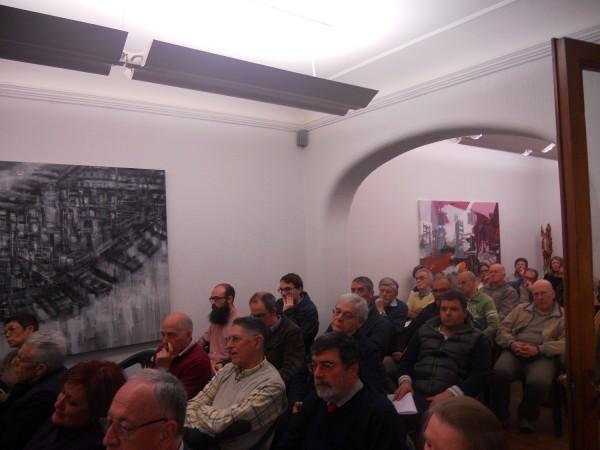 Pubblico alla presentazione del comitato Varese2.0