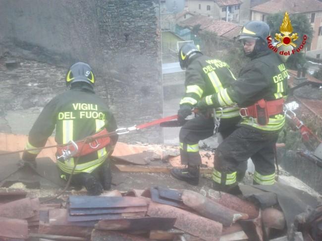Incendio Montegrino