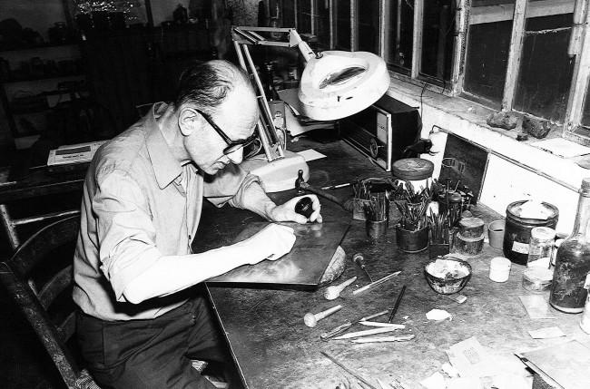 M Costantini in laboratorio