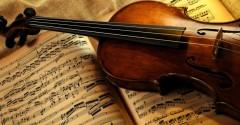 violino-con-spartito-musicale