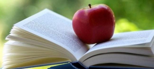 cibo libro mela
