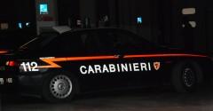 macchina carabinieri
