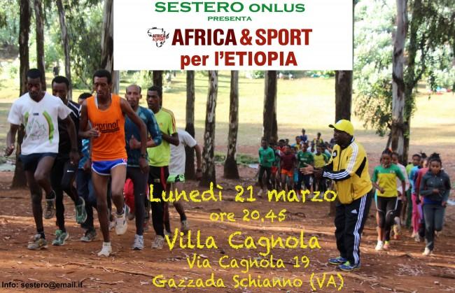 Invito Serata Africa&Sport 2016