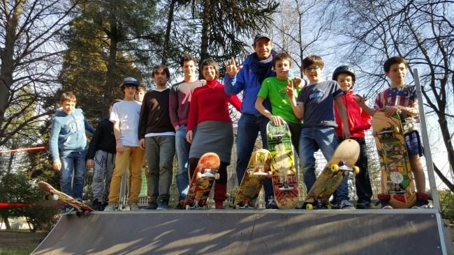 pista skateboard Malnate