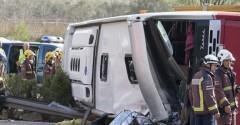 13 students dead in Spanish bus crash