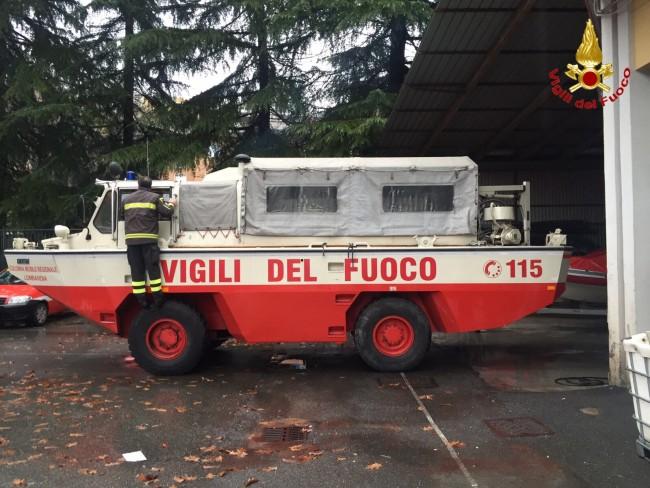 Vigili Del Fuoco Varesini In Aiuto Agli Alluvionati