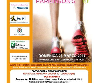 Domenica 26 marzo a legnano si corre la run for parkinson for Borsani arredamenti busto garolfo